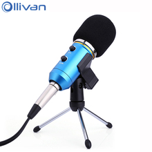 Ollivan MK-F200TL Condenser Microphone USB Wired Microphones KTV Audio Recording Mic Profissional Meeting Recorder For Computer