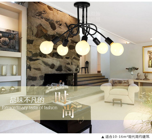 hua ya Koreaanse minimalistische woonkamer verlichting led plafond ...