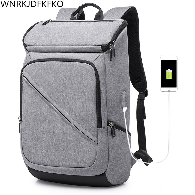2018 Anti-Theft USB Charging 17 inch Laptop Backpack For Women Men Backpack School Backpack School Bag backpack 17 inch waterproof laptop bag nylon student college backpack multifunction usb charging laptop school bag for men women