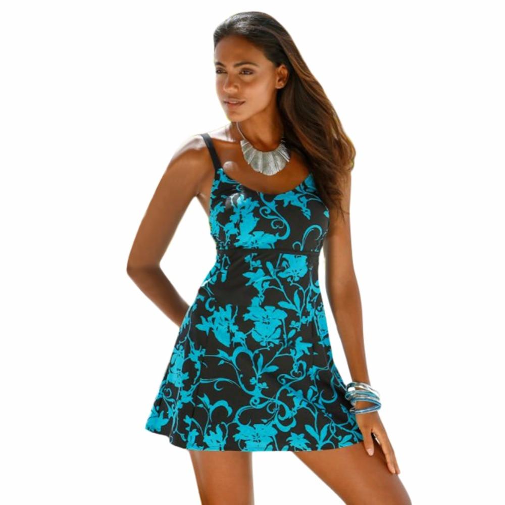 plus size swimwear 2018 extra large tankini push up trikini big bikini set women beach dress. Black Bedroom Furniture Sets. Home Design Ideas