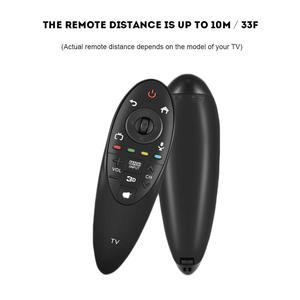 Image 1 - 実用的な黒のリモートコントロールと 3D 機能インテリジェントテレビコントローラ lg AN MR500G ANMR500 家庭用品