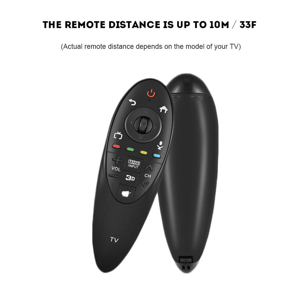 Practical Black Remote Control with 3D Function Intelligent TV Controllers for LG AN MR500G ANMR500 Home Supplies-in Remote Controls from Consumer Electronics