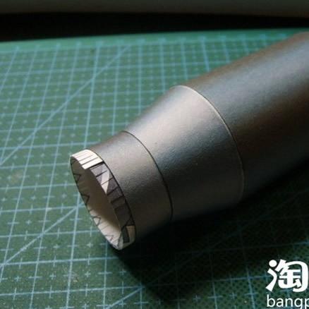 CSOL Counter-Strike пушки Гатлинга Бумажная модель 1:1 Размеры готовой Длина 123 см