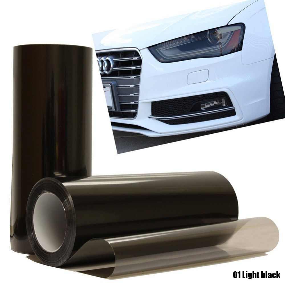 Promotie! 30X60Cm Auto Tint Mode Koplamp Achterlicht Mistlamp Vinyl Smoke Filmfiche Sticker Cover Auto Styling Voor alle Auto 'S