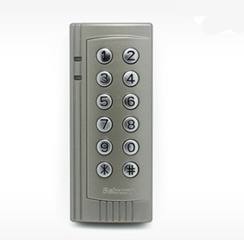 1000 User Metal ID Card Password Door Access Control user
