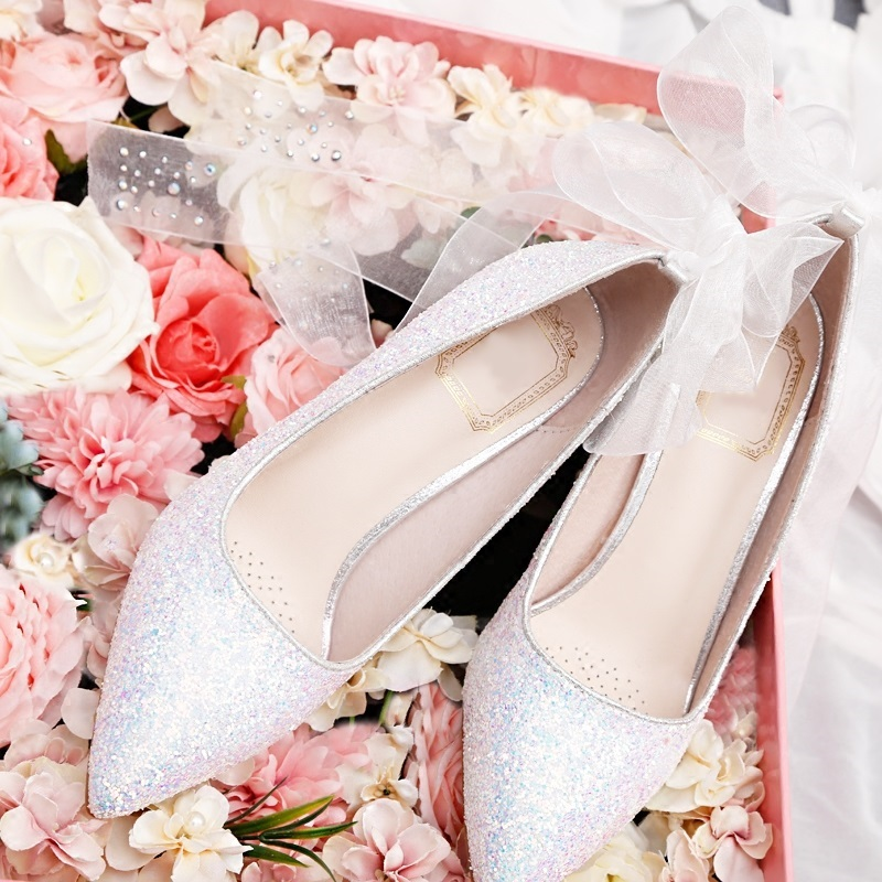 Brand Women Pumps Bling High Heels Women Pumps Glitter High Heel 8 CM Pointed Toe Shoes Woman Sexy Wedding Shoes Gold annymoli women pumps high heels glitter wedding shoes sexy pointed toe thin heel bridal shoes spring party female pumps red gold