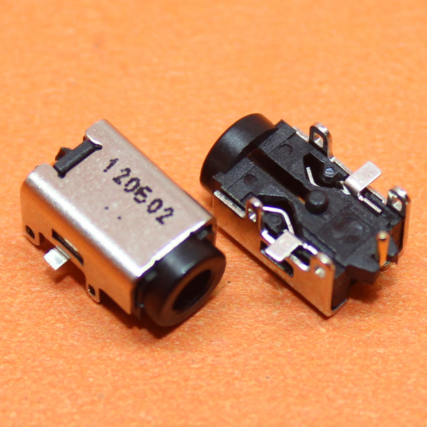 CK  5pcs/lot New Laptop Power DC Jack for ASUS EeePC 1215N 1215CT B P T VX6 Power Socket Connector Free Shipping,DC-142 free shipping 20 pcs lot new original dc power jack connector for asus acer hp msi haier toshiba series 5 5 2 5mm socket