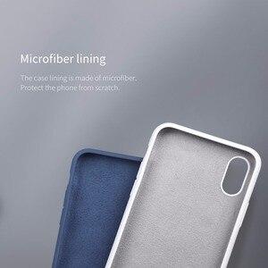 Image 4 - Original pour iphone x Coque NILLKIN Silicone liquide Coque arrière pour iphone X Ultra mince Gel souple caoutchouc pour iphone X Coque Fundas 10
