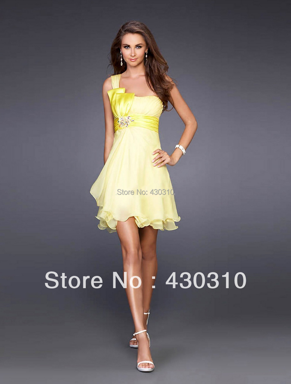 Summer Yellow Cocktail Dresses | Dress images