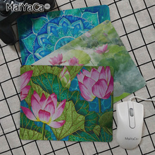 MaiYaCa Cool New Art lotus  Customized laptop Gaming mouse pad Top Selling Wholesale Pad