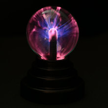 Novelty Glass Magic Plasma Ball Light Table Lights Sphere Nightlight Kids Gift For New Year Magic Plasma Night Lamp