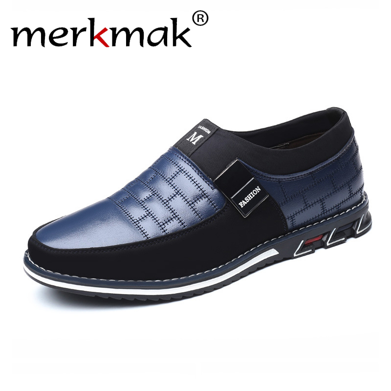 Genuine Leather Men Casual Shoes Brand 2019 Mens Loafers Moccasins Breathable Slip on Black Driving Shoes Plus Size 38-46(China)