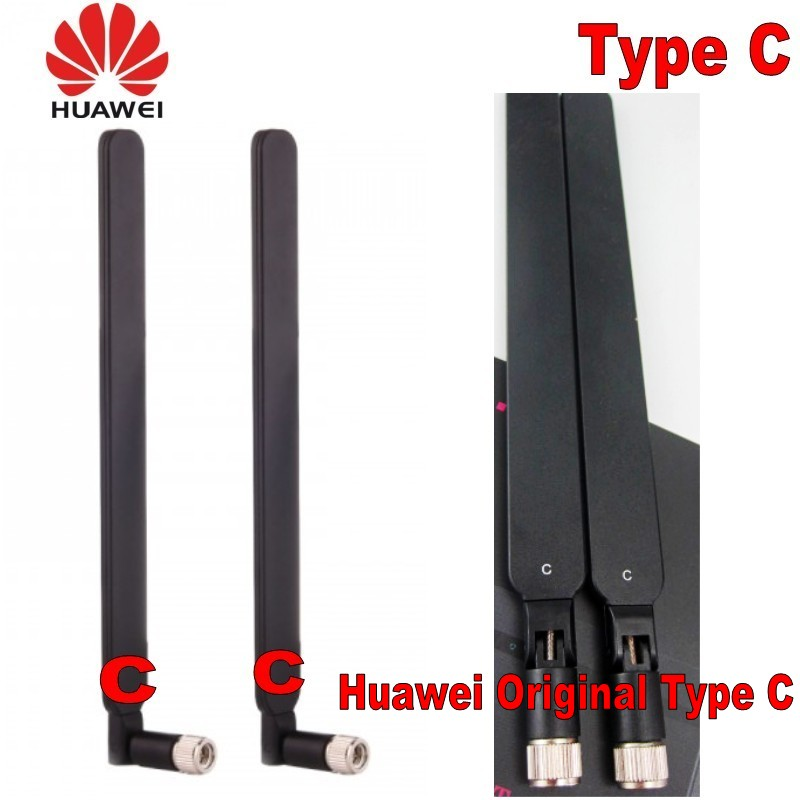 Original Huawei Genuines 2pcs 4g Lte Antenna Intelligence  B593 B525 B880 B310 Wireless Type C Huawei Gateway