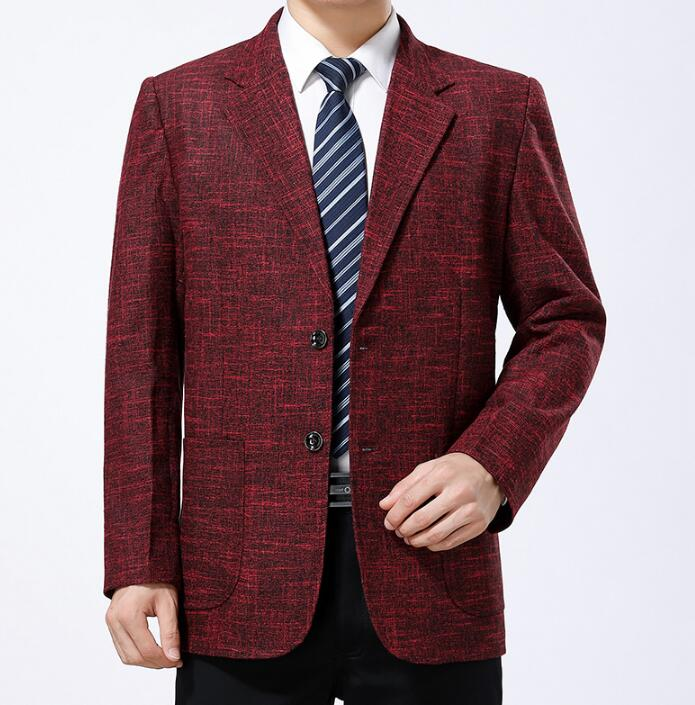 bourgogne Survêtement Bleu Jaqueta D'âge Fit kaki Vêtements gris Printemps Casaco Costume Blazer D'affaires Hommes Manteaux Occasionnels Homme Moyen Masculino Veste Slim dBreoWCx