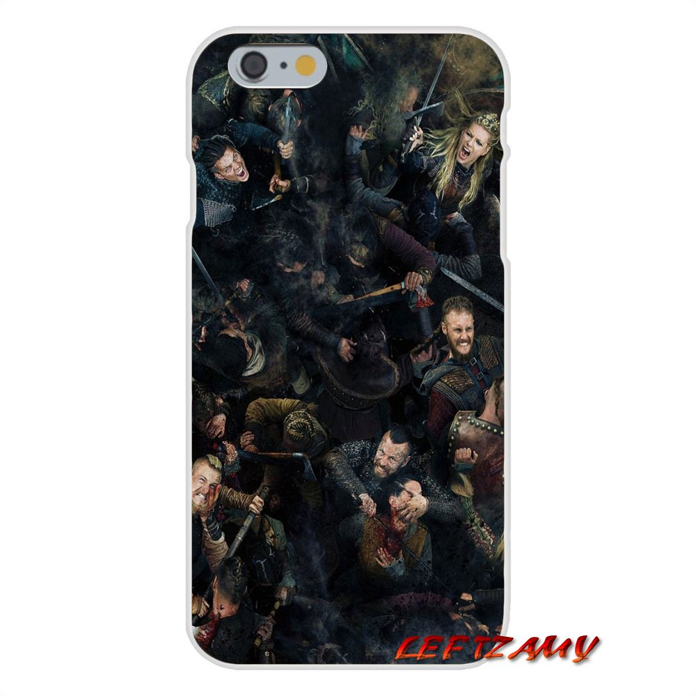 Ragnar Vikings Season 3 TV Logo Slim Silicone phone Case For Samsung Galaxy S3 S4 S5 MINI S6 S7 edge S8 S9 Plus Note 2 3 4 5 8