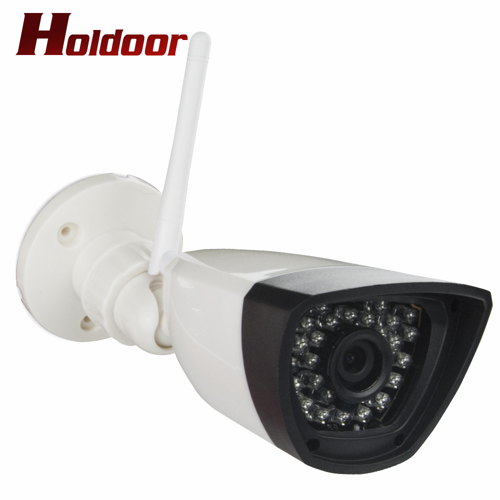 IP Camera Outdoor 720P Wifi Night Vision ONVIF H.264 Motion Detection Email Alert Remote View Via Smart Phone support SD memory s6205y h 264 hi3518e 1 4 cmos wireless 1megapixel hd 1280 720 smart wifi ip camera night vision support remote monitor