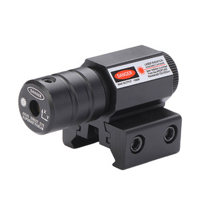 Mini Infrared Laser Sight Adjustable Dovetail Riflescope for Hunting Rifle Gun Airsoft Tactical Sniper(China)