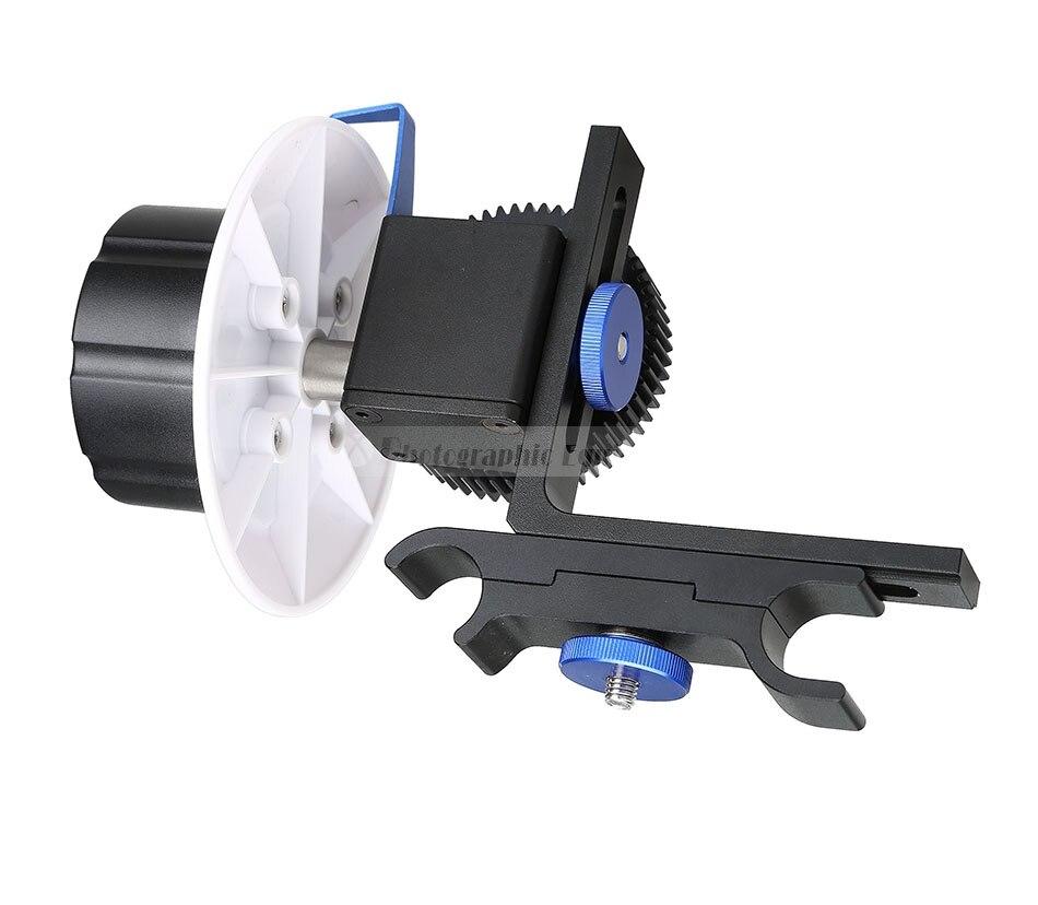 Follow Focus with Adjustable Gear Ring Belt 15mm Rod Mount Support System for Canon Nikon SONY DSLR Camera Rig varavon plastic 5d2 adjustable sling follow focus ring for slr camera black
