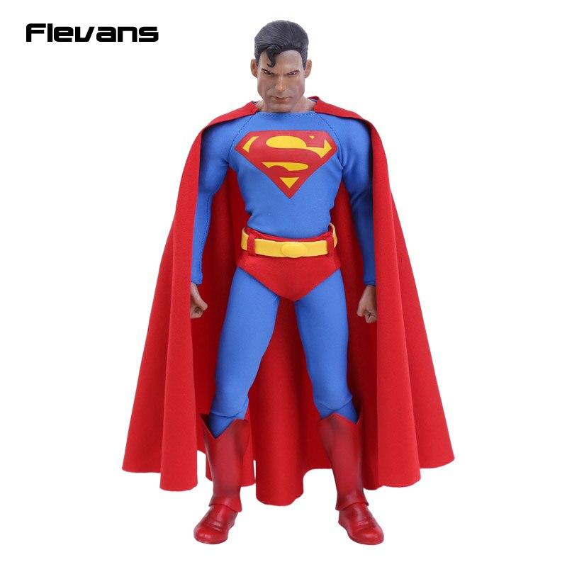 """Juguetes locos Superman 1/6 escala figura de acción coleccionable 12 """"30 cm-in Figuras de juguete y acción from Juguetes y pasatiempos    1"""