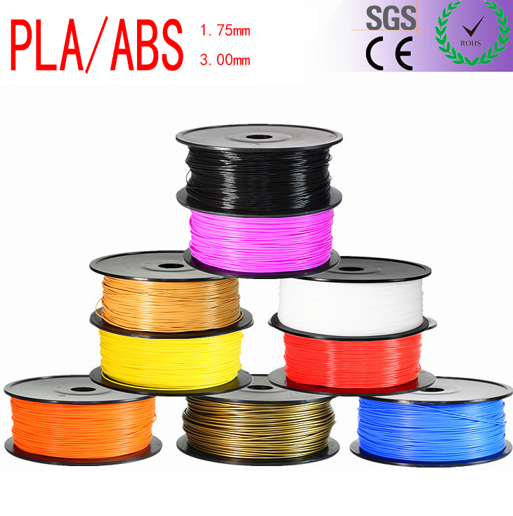 1KG/roll PLA 3D Printing Materials  Filament 1.75mm Random Color For 3D Printer or Pen ABS Filament For 3D Drawing Printing Pen 3d printer filament 50m 5 colors 10m color abs pla 1 75mm 3d filament printing materials for 3d printing pen 3d printer