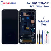 5.5 With Frame LCD Display For LG Q7 LCD G7 Q610 LCD Display For LG Q7 Q7 Plus Q610 Display LCD Screen Touch Digitizer Assembly