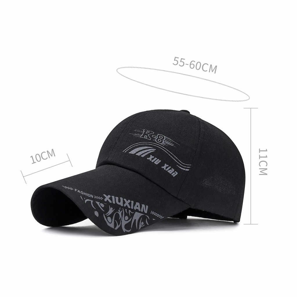 Boné de Beisebol de verão New Cotton Mens Hat Juventude Carta Unisex Mulheres Homens Chapéus Snapback Chapéu Hip Hop Osso Garros # l5