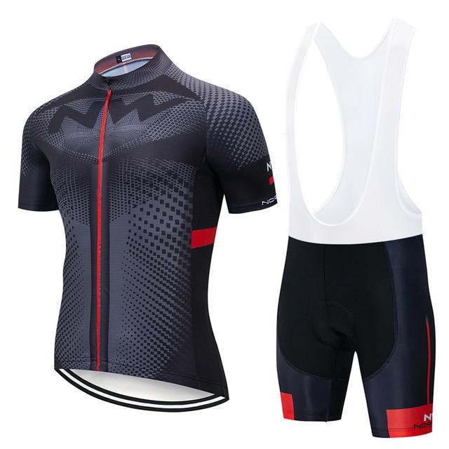 2019 nw ciclismo Jersey Set Mountian Bicicleta Sportswear Roupas de Ciclismo Corrida de Bicicleta Desgaste Roupas homens de bicicleta conjunto