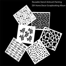 Template-Stamps Stencil Painting Embossing-Cake Diy Scrapbooking Fondant Cupcake-Tool