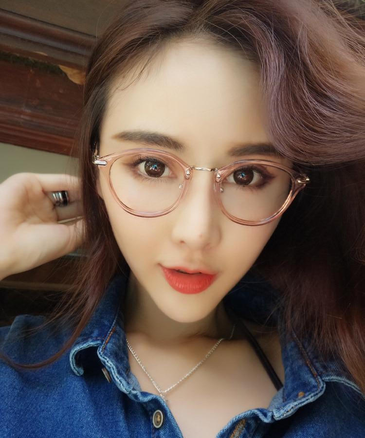 3e6db96b270 High Quality Korea Fashion Brand Vintage Nerd Glasses Women Hipster Men  Eyeglasses Leopard Print Glasses Frames oculos acetato-in Eyewear Frames  from ...