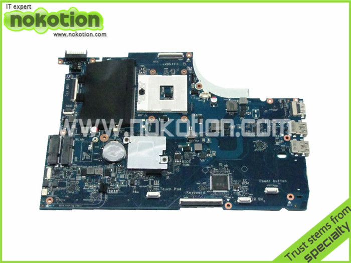 NOKOTION Laptop Motherboard for HP Envy 15-J 720568-501 6050A2548201-MB-A02 HM87 GMA HD5000 DDR3 Intel Logic Board laptop motherboard for hp 2000 2b 685783 501 6050a2493101 mb a02 hm77 gma hd4000 ddr3