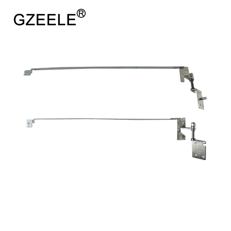 "GZEELE Hot Selling!New For Lenovo B570 B575 B570E B575E V570 LCD Screen Right&Left Lcd Hinge Set 15.6"" Laptop Lcd Hinges Kit R+L"