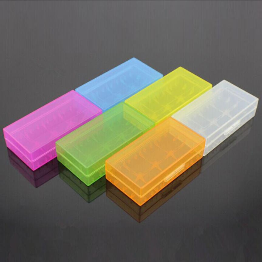все цены на 18650 CR123A 16340 Battery Case Holder Box Storage Color Optional of 2017 JUL 27-7 онлайн