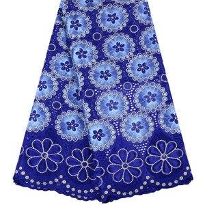 Image 1 - 2019 mais recente francês africano tecido de renda alta qualidade tule algodão renda para vestido swiss voile renda na suíça 1467