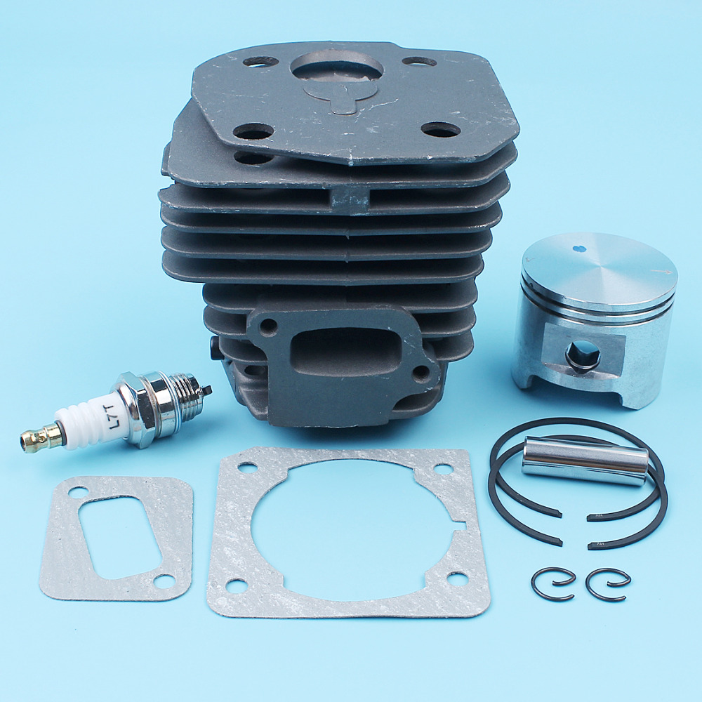 For Big Jonsered CS Kit CS Chainsaw 2147 EPA EPA 45mm Cylinder Nikasil Bore Gasket Plated 537253102 CS 2150 Piston 2152
