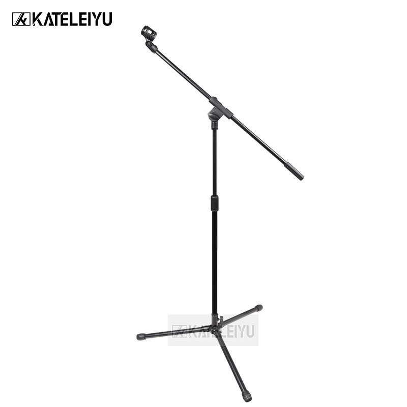 все цены на NB-323 Professional swing boom floor stand microphone holder Flexible Stage Microphone Stand Tripod онлайн