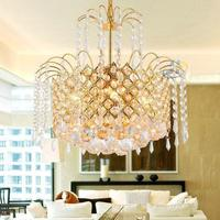 Luminaires Crystal Pendant Lights Lustres Plafonniere D40 Luminaires Plafonniers Modernes Lustres Pendant Lamps Cristal Abajur