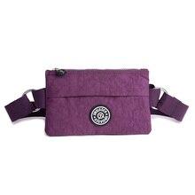 JINQIAOER Haute Qualité Nylon Taille Packs Ceinture D'épaule Sac Portable Hommes Et Femmes Taille Messenger Sacs voyage Paquet 2017