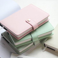 2017 Macaron Notebook Personal Organizer In Pelle Kawaii Ufficio Affari Notebook Agenda Cute Kawaii Planner A5