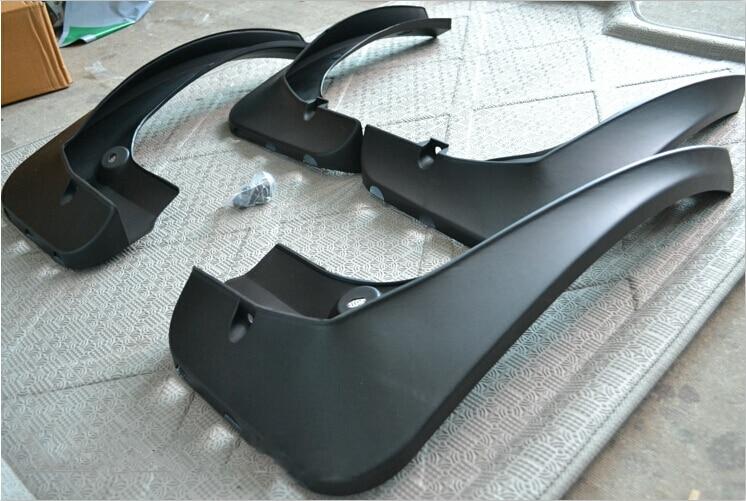2011-2015 For BMW X3 F25 Mud Splash Flaps Guards Mudguards Fender Black 4pcs fit for range rover 06 13 l322 mudflaps mud flap splash guard mudguards fender free shipping lzh