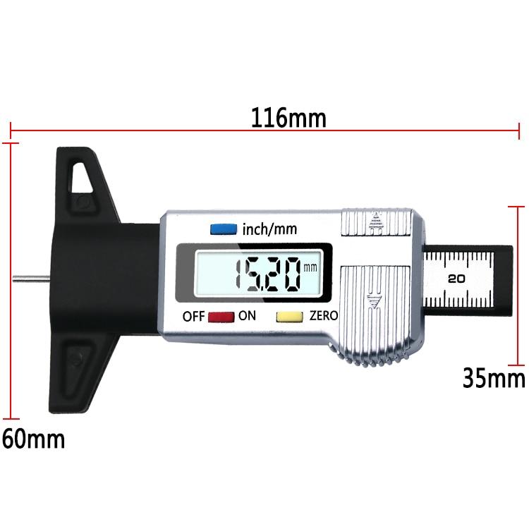 Medidor Digital de profundidad para neumáticos