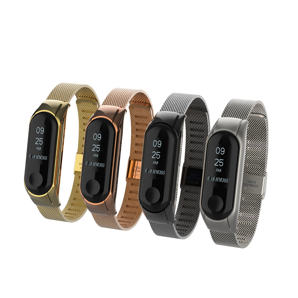 xiaomi mi band 2 screwless stainless steel strap miband 2 metal wrist strap bracelet for mi band2 smart wristbands accessories Mi band 3 strap bracelet Metal MiBand 3 Strap wrist strap Screwless Stainless Steel Bracelet Wristbands for Xiaomi mi band 3