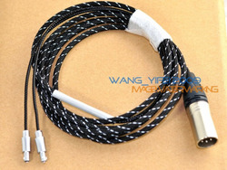 Amazing Handcrafted Balanced Cable For Focal Utopia Headphone XLR 4 Pins Cannon Plug 2.5M