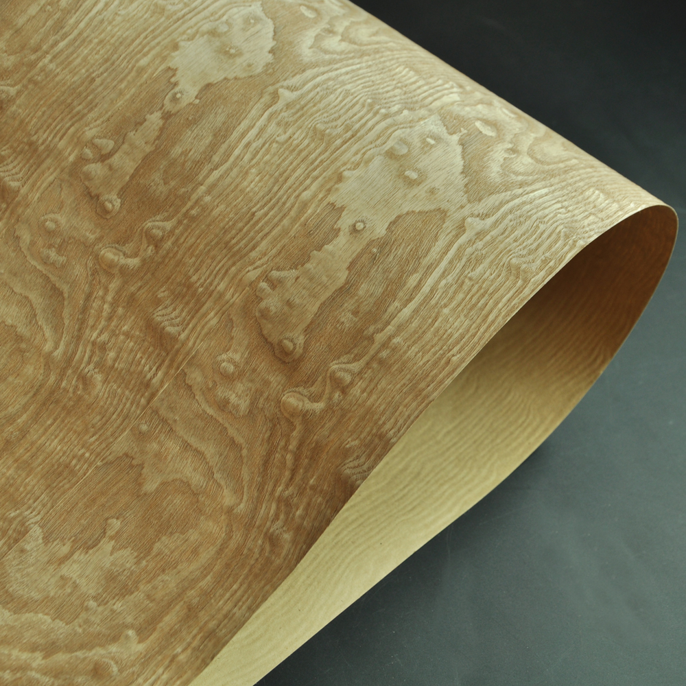 Tamo Figured Ash Wood Veneer With Craft Paper Back