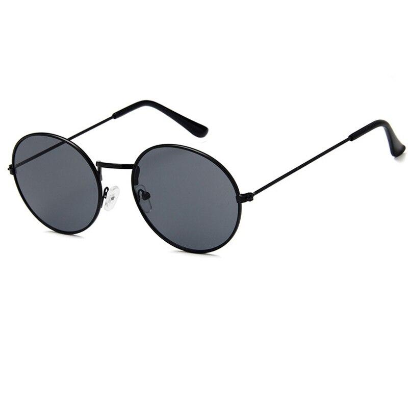84a960283b Samjunio 2019 nueva versión coreana gafas de sol redondas de Color jalea  transparente Ocean gafas de sol Retro Para hombres y mujeres