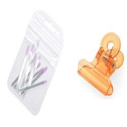 1 pack + 1pcs Pinching Tool Set Professional Fiberglass for Nail Silk Extension Nail Form Acrylic Tips Nail Salon