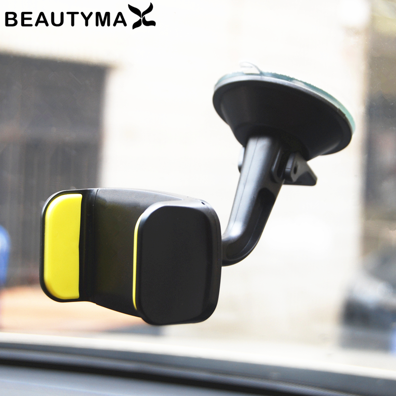 360 Rotatable Car Holder Windshield Car Phone Holder Stand Mount Support Strong Hold Holder GPS Map Display Show Bracket