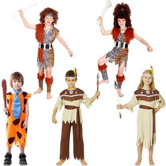2016 Child Boy Girl Hot Savage leopard costume Native American Indian Princess Dress Halloween Cosplay Costume  sc 1 st  AliExpress.com & 2016 Child Boy Girl Hot Savage leopard costume Native American ...