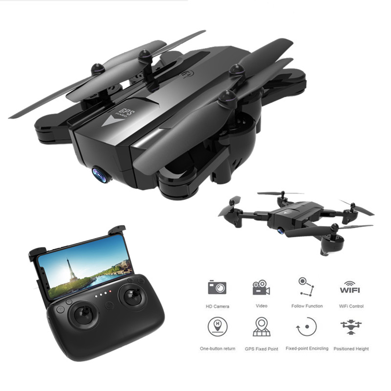 X192 GPS Quadcopter with 720P/1080P Camera RC Helicopter GPS Fixed Point FPV Drone with Camera Follow Me mode vs Visuo XS812 Квадрокоптер