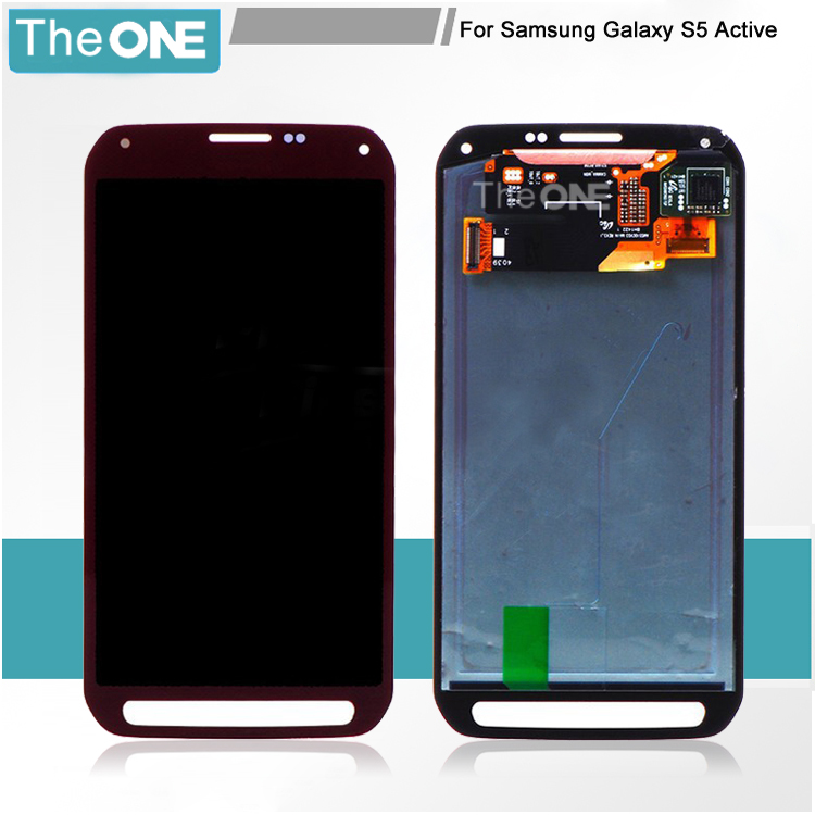 For Samsung Galaxy S5 Active G870 G870A LCD Screen Display with Digitizer Touch Free Shipping!!(Black/Grey) bort bhd 901