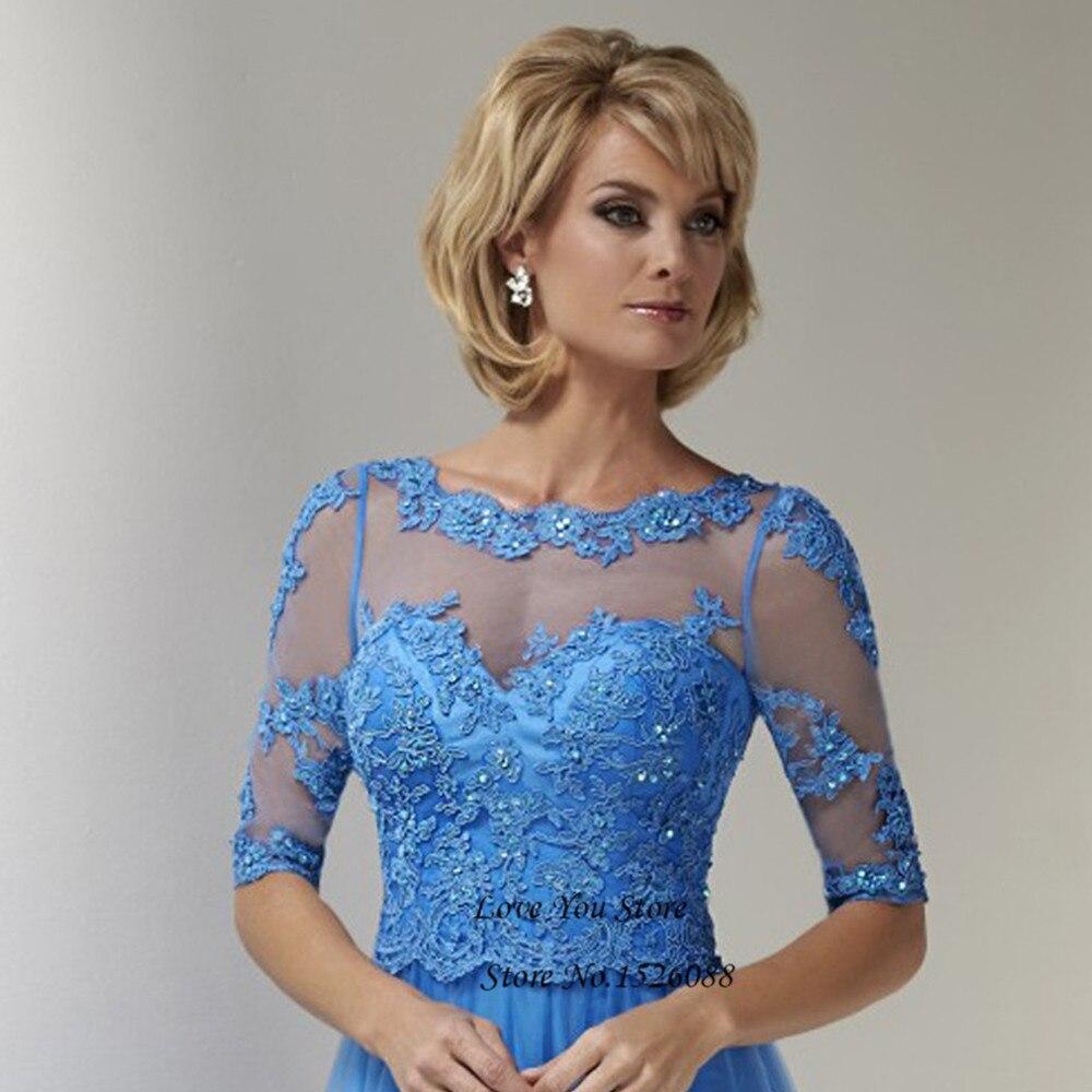 Vestido Mae da Noiva Madre Azul de la Novia Vestidos de Encaje ...